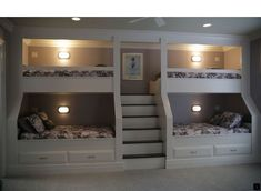 Wooden Storage Bunk Bed Frame Designs That Effective to give ashared space some efficient organizations Part 24 Bed Frame, Home, Bedroom Design, Bed Design, Bed, Loft Spaces, Bunk Beds With Stairs, Bunks, Space Bedding