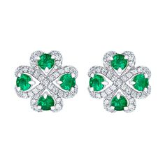 Earrings by Fabergé