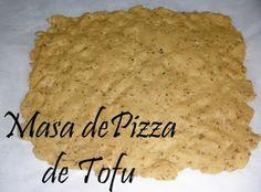 Cocinando con Cris: Masa de Pizza de Tofu para Dukan