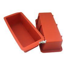 B0232 Николь бренд fda Еда Класс силиконовые формы для торт, каравай выпечки прямоугольник Формы для мыла(China)