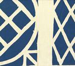 Lynn Chalk - Quadrille China Seas Trellis Background Fabric Navy on Tint, $129.78 (http://store.lynnchalk.com/quadrille-china-seas-trellis-background-fabric-navy-on-tint/)