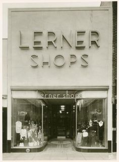 Lerner Shops, Brooklyn, NYC, New York  Historic 1930s Photo