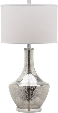 Mercury Table Lamp in Silver design by Safavieh