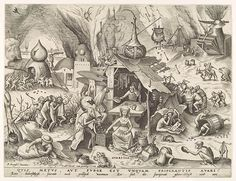 Avaritia (Greed), 1558