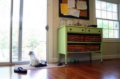 repurpose old dresser