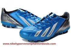Cheap Blue Black White Adidas F10 TRX AG