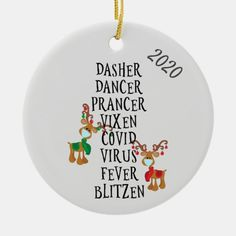 Funny Christmas Ornaments, Christmas Crafts For Gifts, Perfect Christmas Gifts, Christmas Humor, Christmas Fun, Vinyl Ornaments, Ornaments Ideas, Painted Ornaments, Creative Diy Christmas Gifts