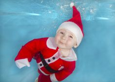 Christmas spirit: Water Babies