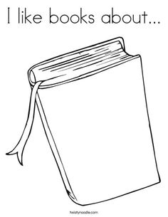 Book coloring sheet to write about favorite books...good for first week of school.