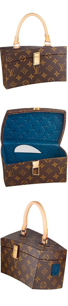 """~Louis Vuitton Icon and Iconoclasts Collection - """"Twisted Box"""" by FRANK GEHRY 