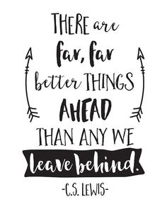 Printable Art, Inspirational Quote, Better Things Ahead, Motivational Print, Typography Print, Quote Prints, Digital Download Print