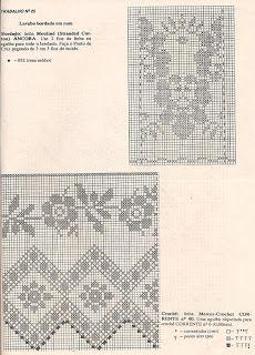 Fadinha da Arte: Toalha para lavabo bordada em ponto cruz