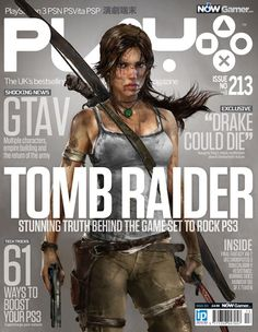 Tomb Raider - my fav since i was a kid! Played most of them