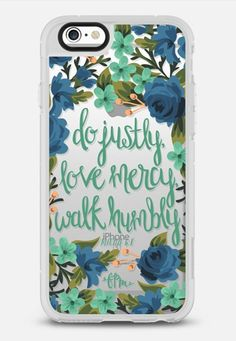 Micah 6:8 iPhone 6s case by French Press Mornings | Casetify