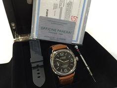 Jam Replika Panerai Pam609 R Radiomir Brown Leather Strap Swiss Eta | WA 081283098098 | Harga Rp 4290000