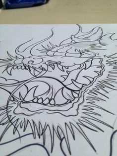 #chinese #dragon #drawing