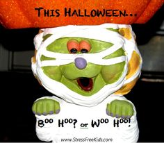 via @Stress Free Kids / Lori Lite: Trick-or-Treat Tip: Take breaks and check in with how your child is doing/feeling.