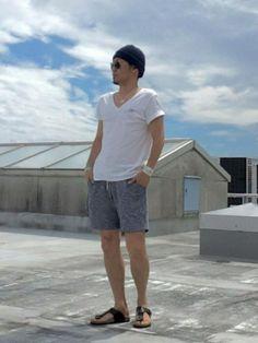 HIRO|Moery SportのTシャツ・カットソーを使ったコーディネートWEAR