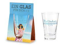 """Glas für Dich """"Hallöchen Sonnenschein"""""""