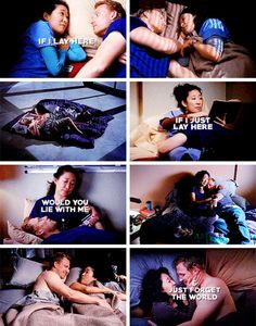 Discovered by khaleesi. Find images and videos about couple, grey's anatomy and greys anatomy on We Heart It - the app to get lost in what you love. Greys Anatomy Owen, Greys Anatomy Funny, Grey Anatomy Quotes, Cristina And Owen, Cristina Yang, Grey's Anatomy, Owen Hunt, Greys Anatomy Characters, Sandra Oh