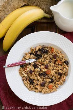 Pistachio Coconut Granola | Such a terrific homemade recipe!