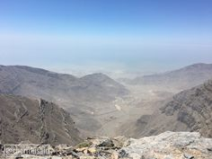 Highest point in the UAE  Jebel Jais