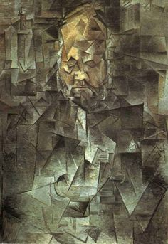 Analytical Cubism Early Style of Cubist Art Founded By Pablo Picasso and Georges Braque Portraits Cubistes, Cubist Portraits, Cubist Paintings, Cubism Art, Georges Braque, Kunst Picasso, Art Picasso, Henri Matisse, Picasso And Braque