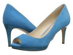 "Nine West - Gelabelle, 3"" heel (Turquoise Suede)"