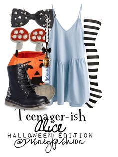 """Alice Halloween"" by eli2612 ❤ liked on Polyvore featuring moda ve Old Navy"