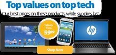 @Walmart: #Savemoney. Live better.Top Values on top Tech!