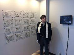 Gerald Saul: William's first gallery exhibition
