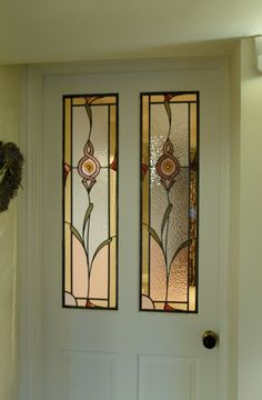 Stained glass portfolio, examples of work by Derbyshire-based artist Dave Griffin