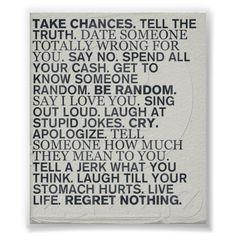 http://www.zazzle.com/take_chances_poster-228004904342444329