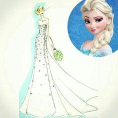 Elsa's Wedding Dress, & my dream wedding dress