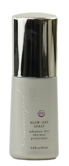 Kenra Platinum Blow Dry Spray. Loooove it.  Brush-out is a breeze, speeds blow drying time, heat protection, shine, and it smells fabulous. One of my top 5 products. Definitely...