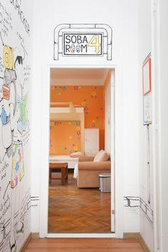 Entrance to room no. 4