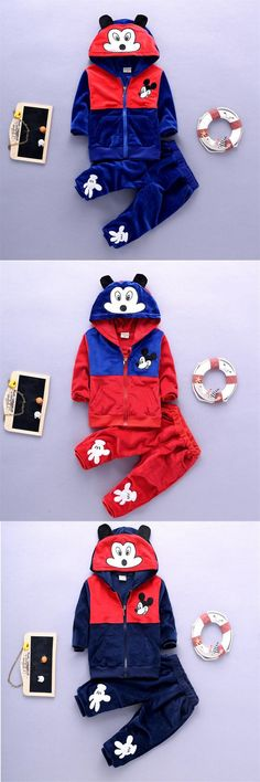 Korean version Toddler baby boys Cartoon Clothing Set kids boy 2016 Spring Autumn cotton tracksuits children clothes sports suit