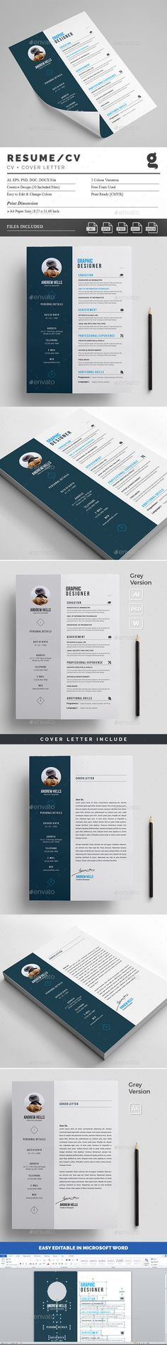 Resume\/CV - #Resumes #Stationery Download here https - net resume