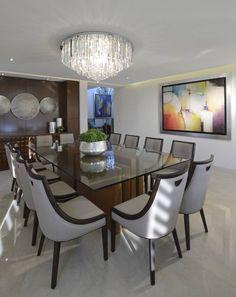 VICTORIA PLASENCIA INTERIORISMO: modern tarz Yemek Odası