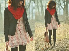 Winter sunset forest (by Lini Trinh) http://lookbook.nu/look/1647980-winter-sunset-forest