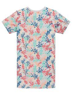 Girls Adidas Originals Youth Floral Print T-Shirt Dress Grey Multi Grey/Multi Size Print Years 14 Year Girl, Girls Adidas, Adidas Originals, The Originals, Gray Dress, Shirt Dress, T Shirt, Color Splash, Adidas Dress