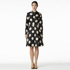 Kate Spade black/white Polka Dot dress