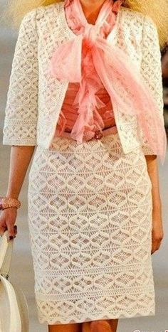 Узор для вязания костюма крючком