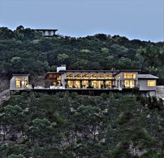 Bookhouse Residence - contemporary - Exterior - Austin - Cornerstone Architects