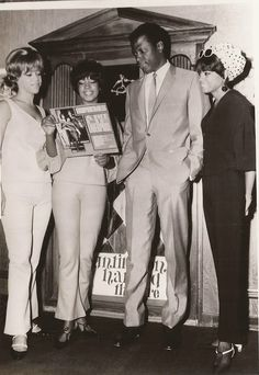 The Supremes with Sidney Poitier