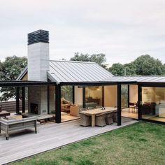 Dieses wunderschön gestaltete Anwesen am Strand von Studio John Irving ist der ultim - Garten