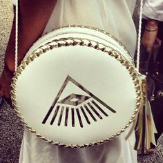 amazing bag from Wendy Nichol's new collection #nyfw