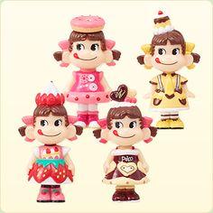 Sweets Peko Peko-chan mini mini series set of 4