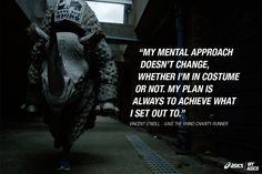 Rhino Runner Vincent O'Neill talks about his goals. #betteryourbest