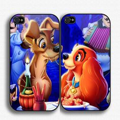 Disney Lady and the Tramp iPhone 4 and iPhone5 case!